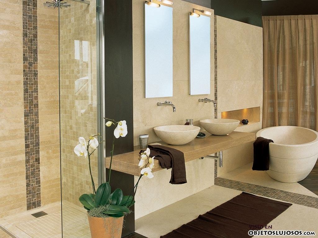 baños de lujo bicolor