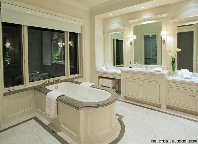 baños lujosos con bañeras
