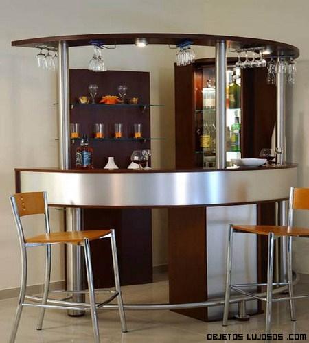 Barra de bar en tu casa objetos lujosos - Barra de bar en casa ...