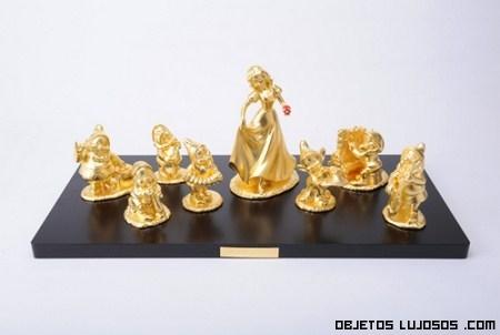 figuras Disney de oro