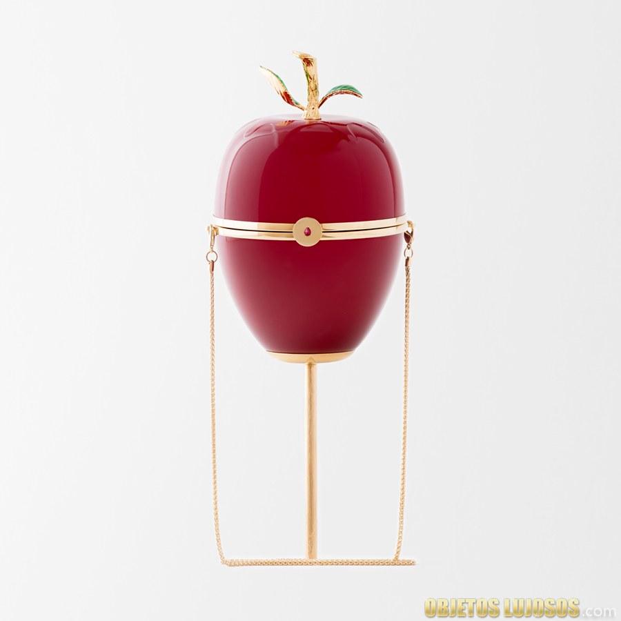 bolso manzana de caramelo