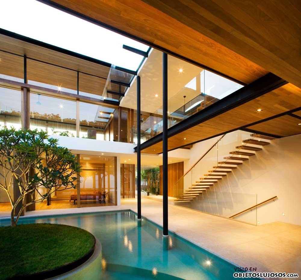 casa dos plantas de guz architects