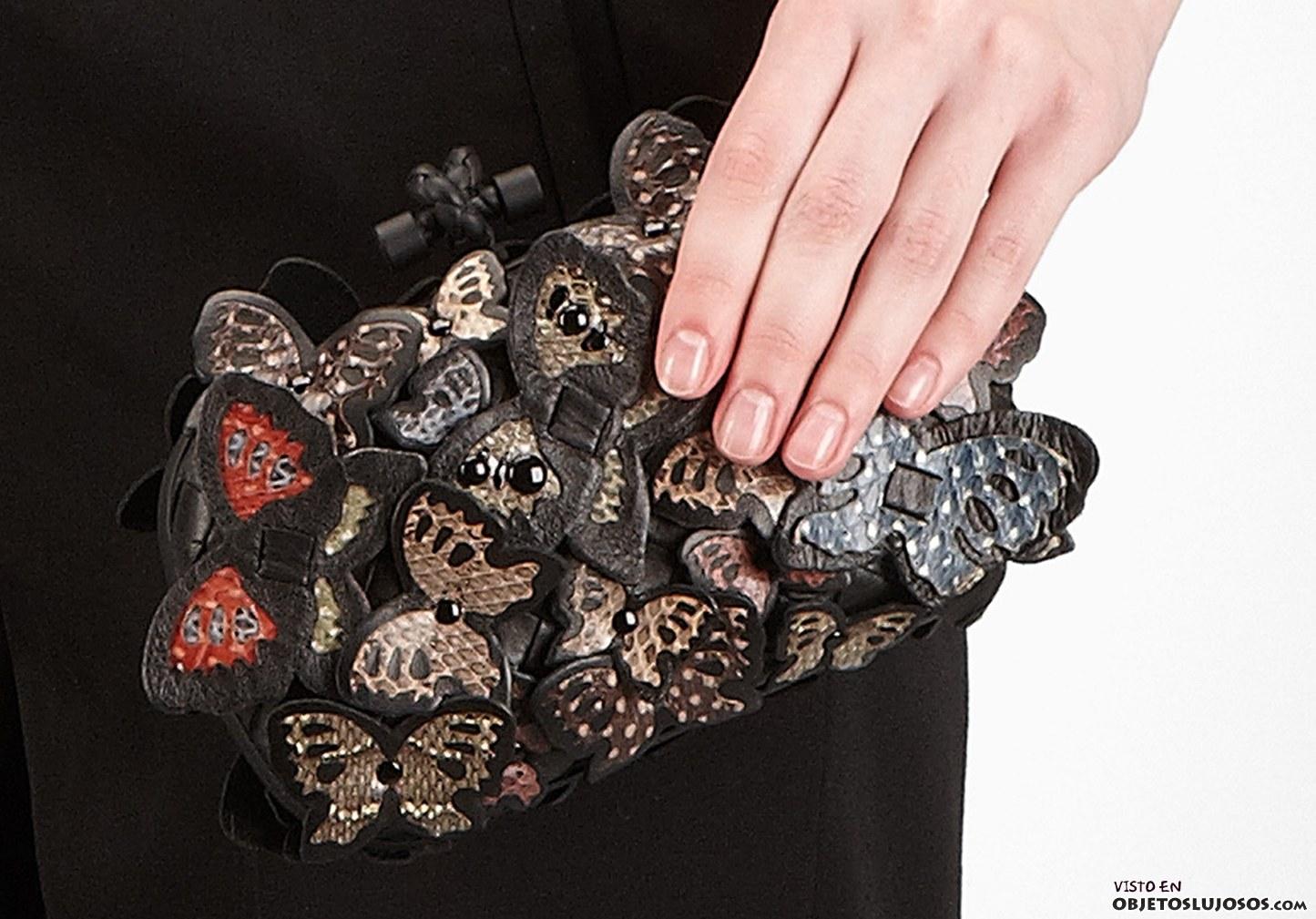 clutch de mariposas