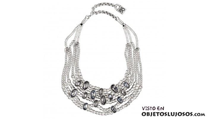 collar de plata uno de 50