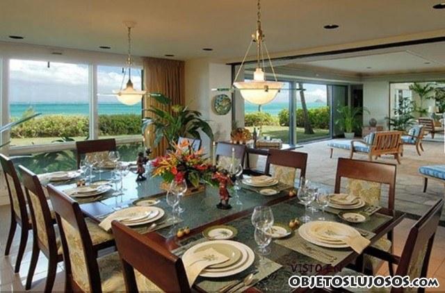 comedor casa Obama Hawai