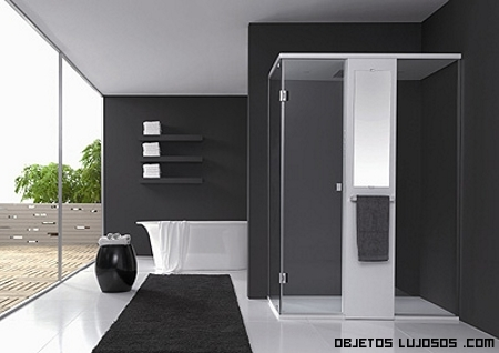 Decoración minimalista para baños