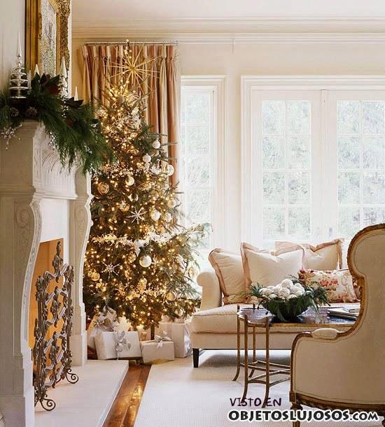 decoración navideña en salones