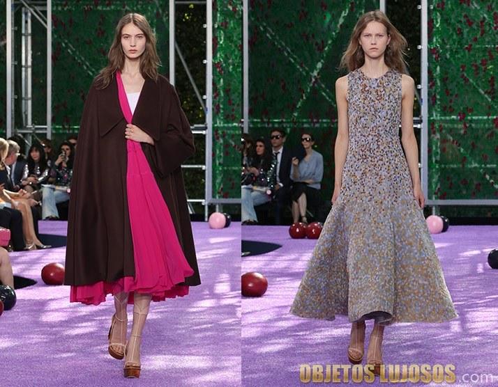 desfile Dior otoño e invierno