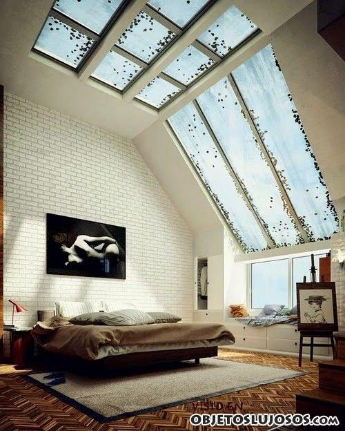 dormitorios con ventanas originales