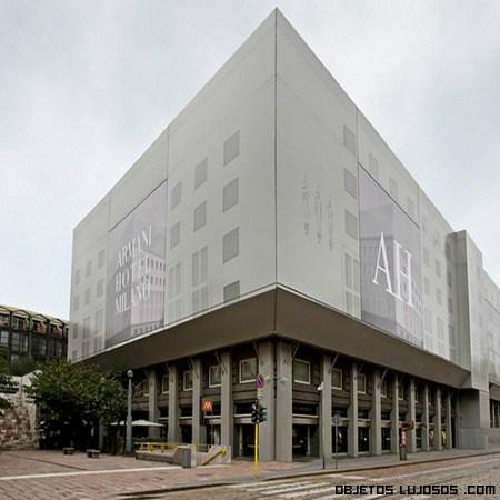 Hotel en Milán del diseñador Armani