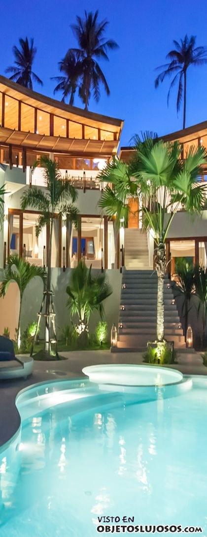 fachada de lujo en hotel