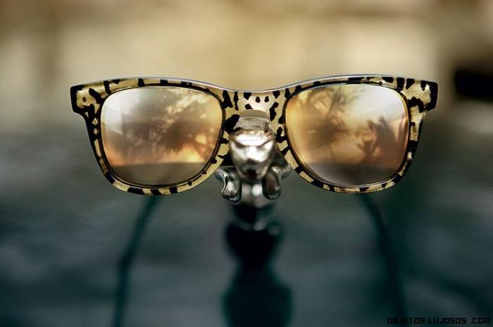 gafas de lujo con estampados