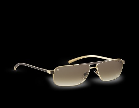 gafas marrones aviador