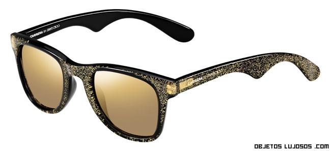 gafas en negro de lujo