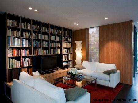 bibliotecas de lujo