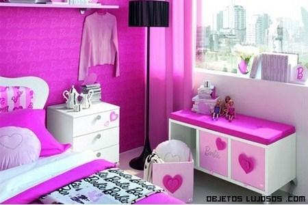 Lujosa habitación de Barbie