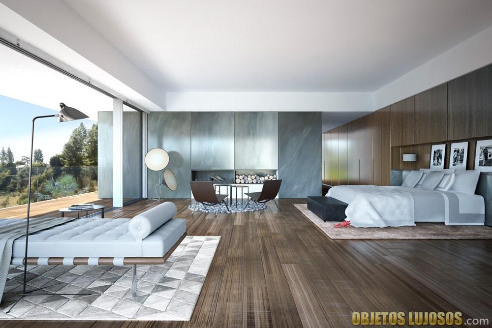 habitación de lujo en madera