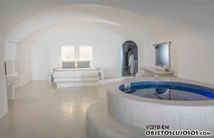 habitación interior con spa