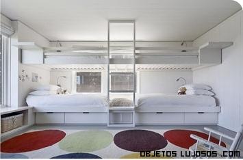 habitaciones infantiles con literas