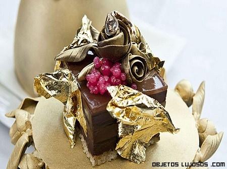 Gastronomía con oro y diamantes