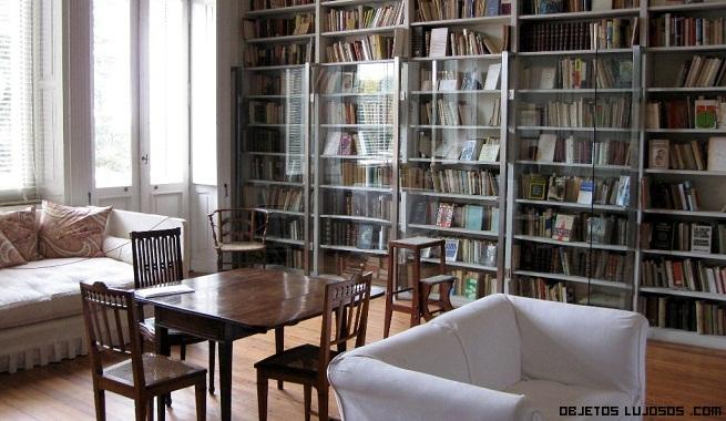 decoración de bibliotecas de lujo