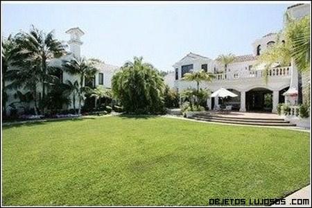 Mansiones de lujo de famosos cantantes