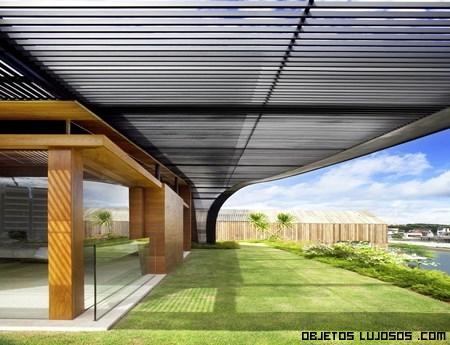terrazas con césped