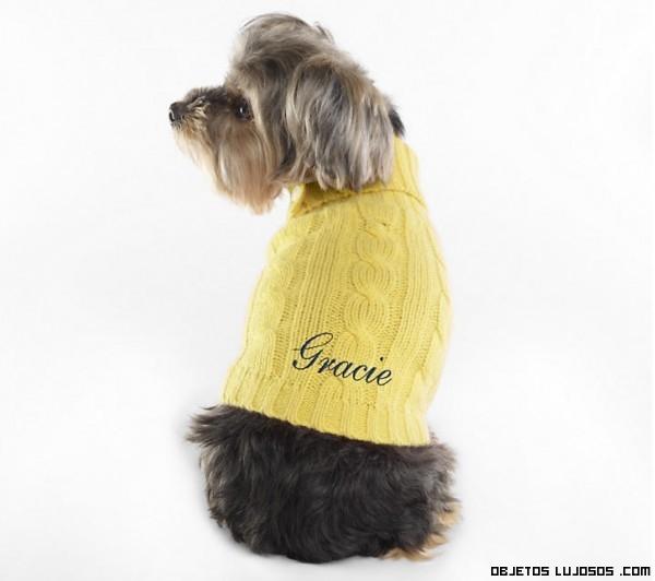 Jersey de punto para perro