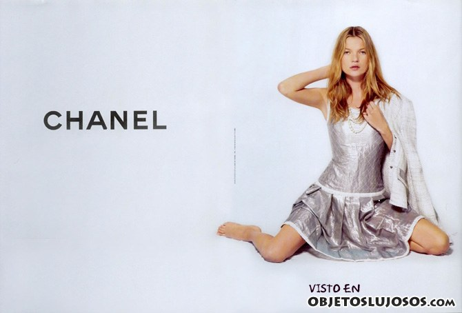 kate moss para chanel