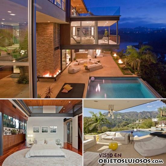 nueva mansión de kutcher y kunis