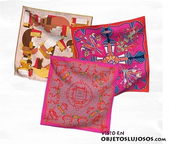 pañuelos hermes de colores