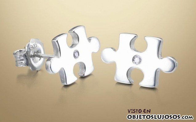 pendientes puzzle