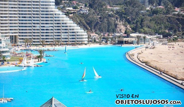 piscina más grande en Chile