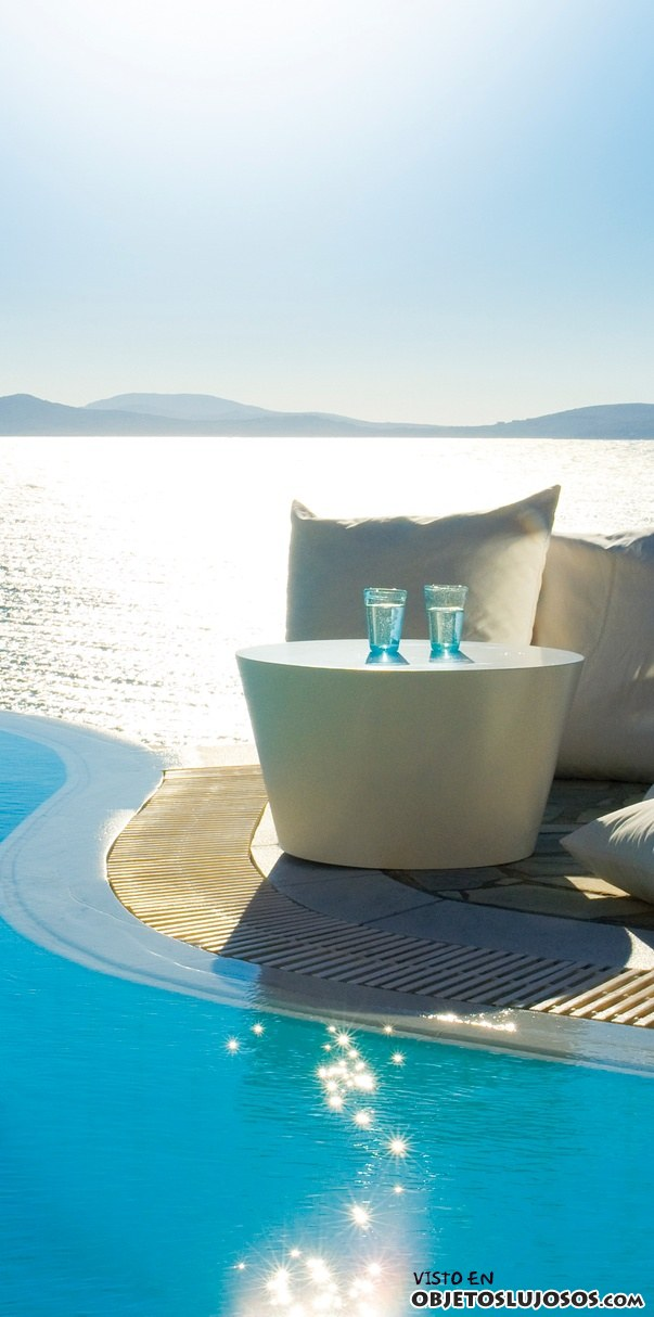 piscina resort de Mykonos