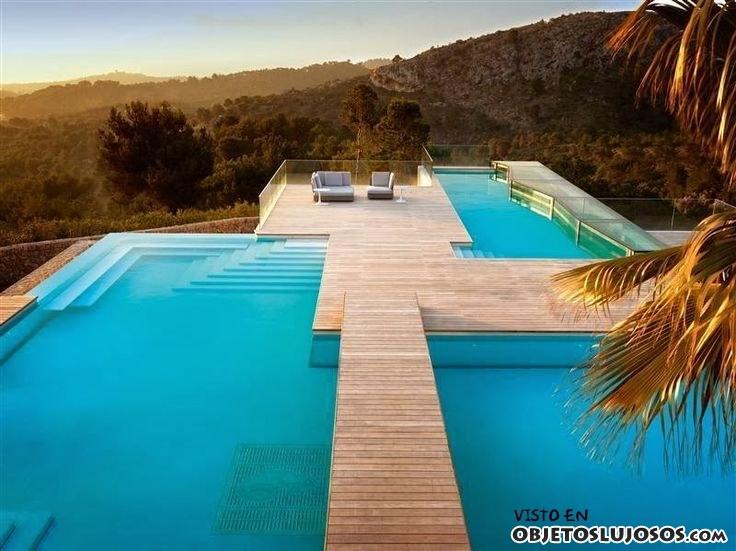 piscina villa chameleon