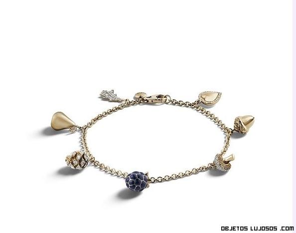 pulseras con charms de lujo