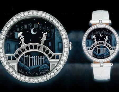 diamantes en relojes de lujo
