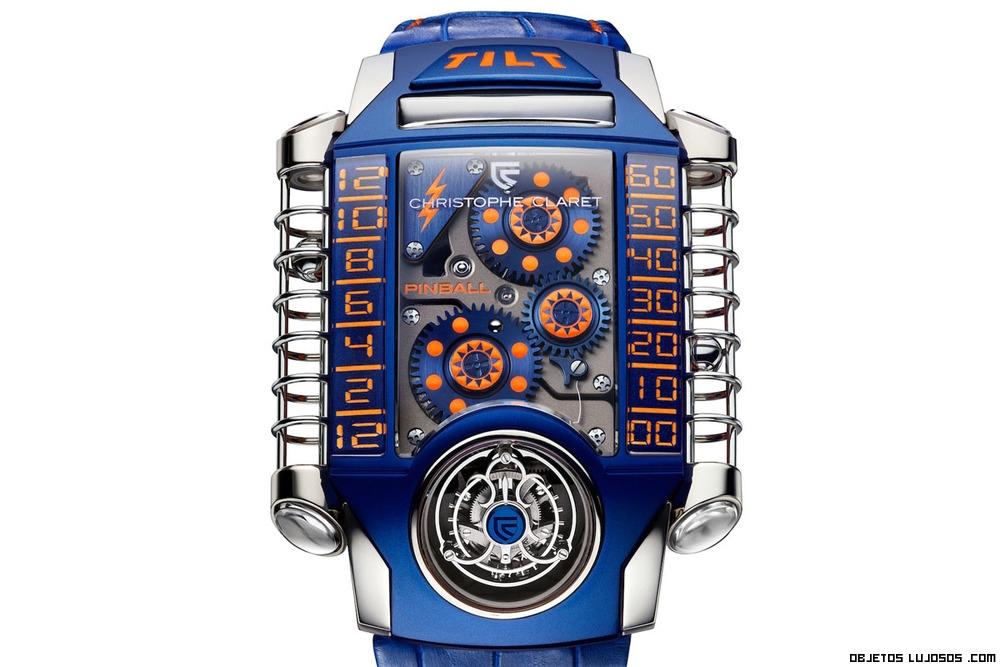 Relojes en color azul