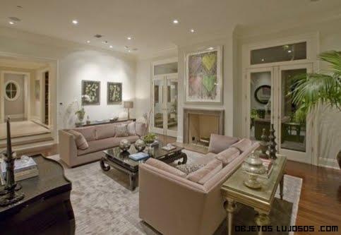 salones de lujo en color crema