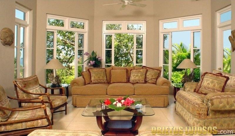 salón de endless summer villa