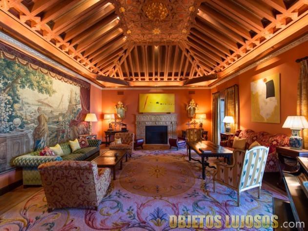 salón de la hacienda de la paz