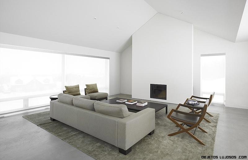salones decorados con estilo minimalista