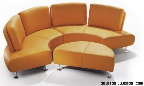 sofás pequeños circulares