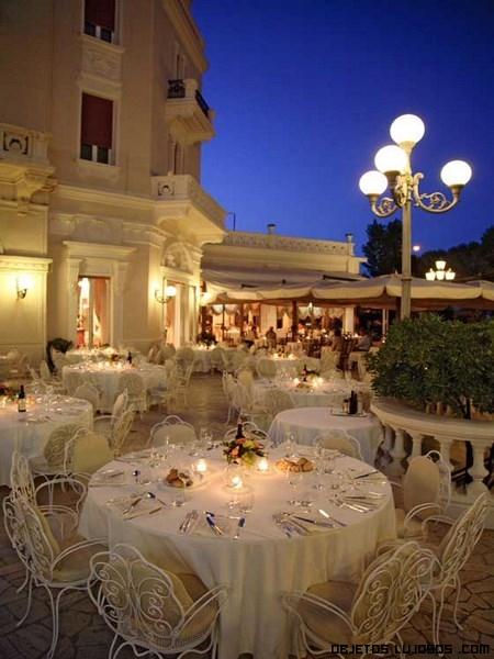 terrazas para cenas de lujo
