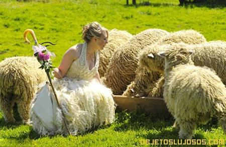 vestido-de-novia-ecologico-hecho-con-lana-de-oveja