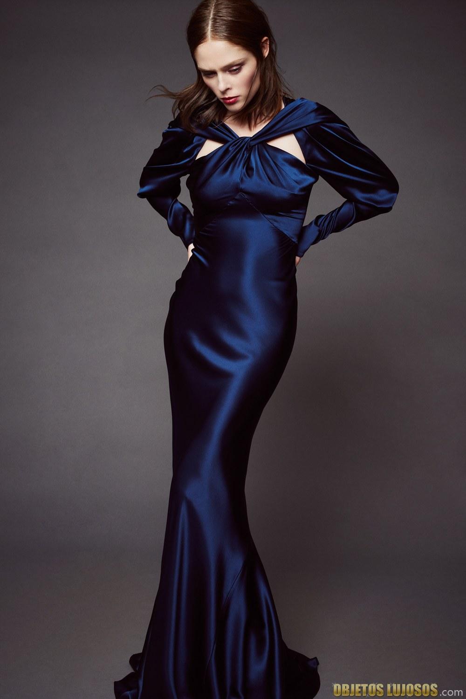 vestido sirena de zac posen