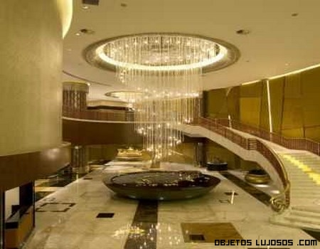 Vestidor de lujo en casino chino