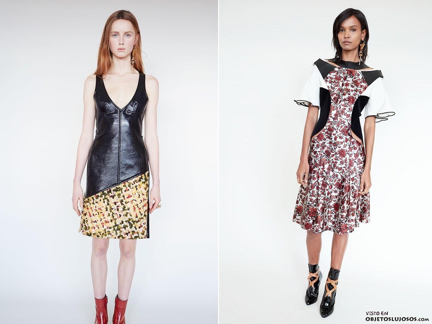 vestidos otoño Louis Vuitton