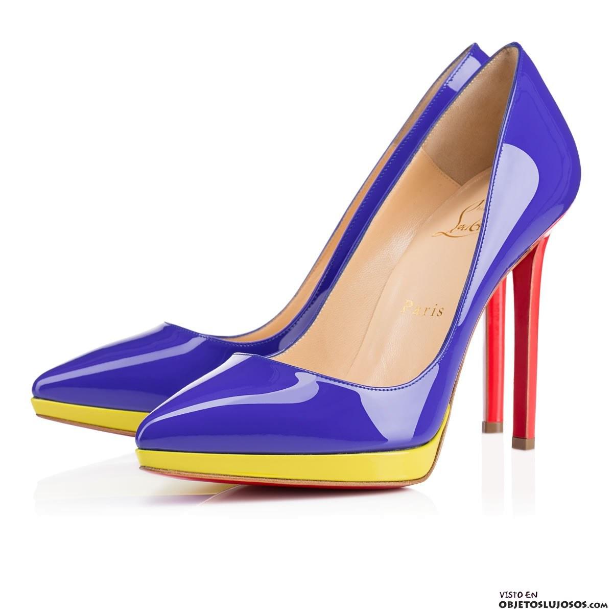 Zapatos de plataforma en colores