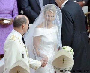 Vestido de novia de la princesa de Mónaco